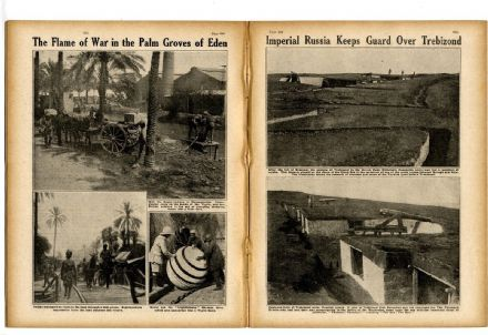 1916 WW1 Magazine TREBIZOND Verdun MESOPOTAMIA London Regiment AVC Veterinary Hospital WAR NEWS(5900)